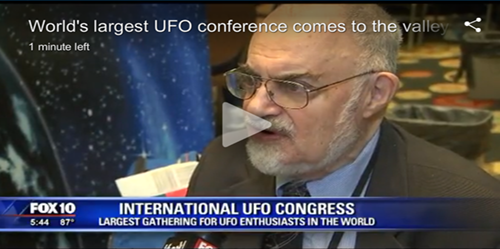 UFO News Goes Mainstream