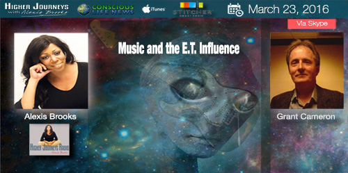 The UFO – E.T. Influence on the Music Industry with Grant Cameron