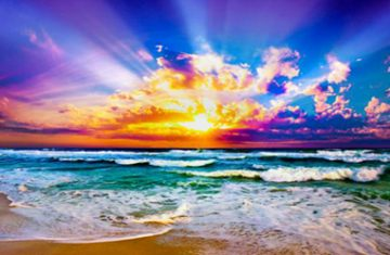 47024179 beach sunset