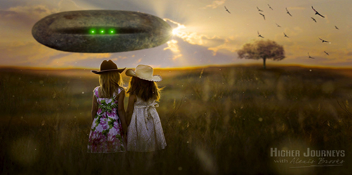 """Off Planet Education – """"I'm Being Taught by Aliens!"""""""